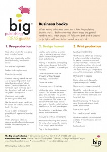 Publishing Information Guide - Business Books