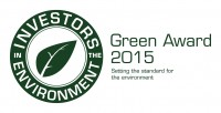 Investors in the Environment Green Award 2015