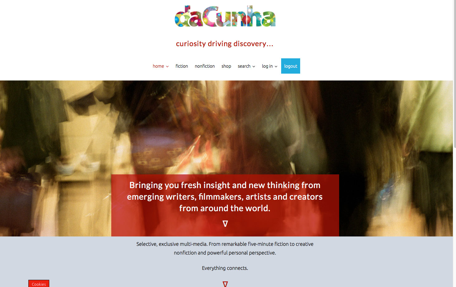 daCunha.global website development The Big Ideas Collective